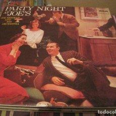 Discos de vinilo: LP JOE REISMAN PARTY NIGHT AT JOE´S RCA 46027 SPAIN REED. FRESH SOUND JAZZ EASY LISTENING. Lote 205666603