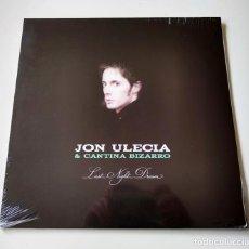 Discos de vinilo: JON ULECIA & CANTINA BIZARRO. LAST NIGHT DREAM. REEDICIÓN VINILO 2018. NUEVO Y PRECINTADO. Lote 205667211