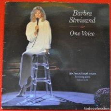 Discos de vinilo: BARBRA STREISAND - ONE VOICE - LP DE VINILO. Lote 205670293