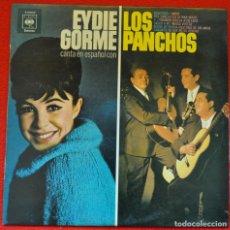 Discos de vinilo: EYDIE GORME Y LOS PANCHOS - EYDIE GOMEZ CANTA EN ESPAÑOL CON LOS PANCHOS - LP DE VINILO. Lote 205670962