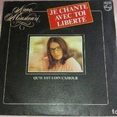 Discos de vinilo: NANA MOUSKOURI - SINGLE FRANCE - VER FOTOS. Lote 205671250