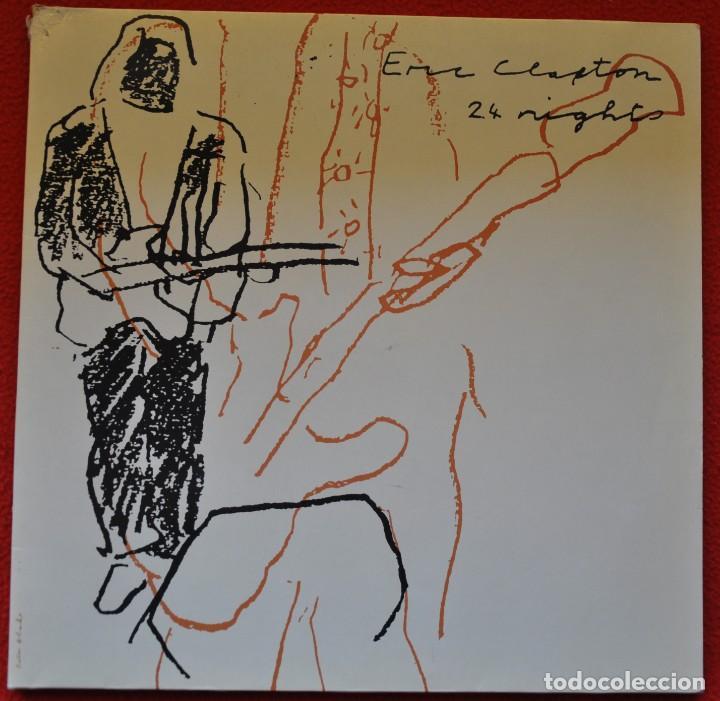 ERIC CLAPTON - 24 NIGHTS - LP DE VINILO (Música - Discos - LP Vinilo - Pop - Rock - Extranjero de los 70)