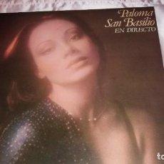 Discos de vinilo: PALOMA SAN BASILIO - LP SPAIN ( EN DIRECTO + POSTER )- VER FOTOS. Lote 205672648