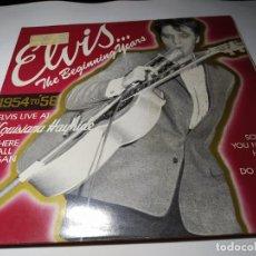 Discos de vinilo: LP - ELVIS PRESLEY – THE BEGINNING YEARS - PL83275 (VG+ / VG + ) EURO 1983 - CARPETA. Lote 205677150