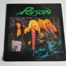 Discos de vinilo: SINGLE VINILO POISON. Lote 205680070