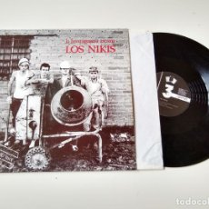 Discos de vinilo: LOS NIKIS. LA HORMIGONERA ASESINA. CEMENTO MIX. MAXI. ORIGINAL. TRES CRIPRESES,1989. MUY BUEN ESTADO. Lote 205681808