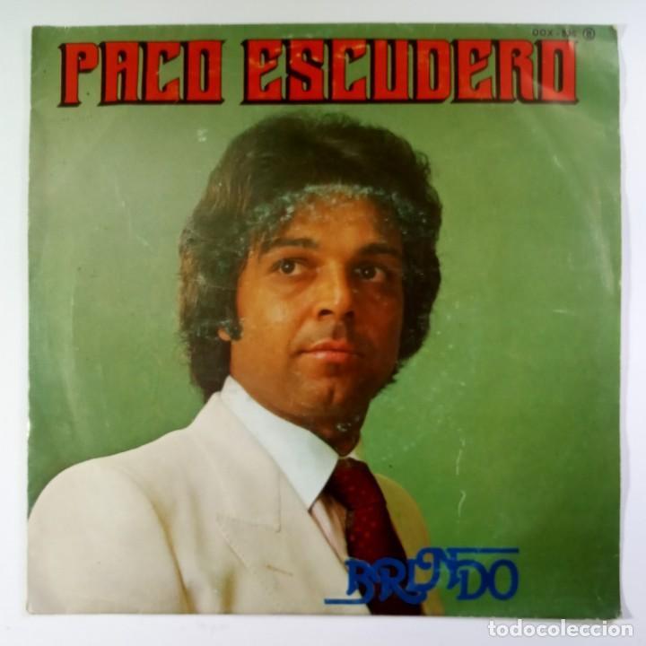PACO ESCUDERO - BRINDO / YO NECESITO - SINGLE PROMO 1981 - ZAFIRO (Música - Discos - Singles Vinilo - Flamenco, Canción española y Cuplé)