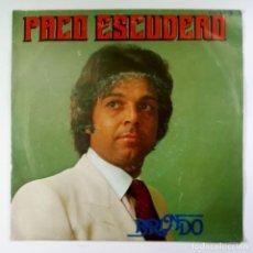 Discos de vinilo: PACO ESCUDERO - BRINDO / YO NECESITO - SINGLE PROMO 1981 - ZAFIRO. Lote 205683277