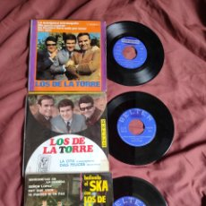 Discos de vinilo: LOS TRES DE LA TORRE 2 EPS+1SG.. Lote 205684035