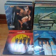 Discos de vinilo: LOTE DE 75 DISCOS DE VINILO (ROCK, POP, RECOPILATORIOS, BANDAS SONORAS, DISCO...). Lote 205687760