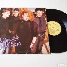 Discos de vinilo: HEROES DEL SILENCIO. HEROE DE LEYENDA. MAXISINGLE ORIGINAL 1987. Lote 205688082