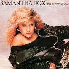 Discos de vinilo: SAMANTHA FOX – TRUE DEVOTION - MAXI-SINGLE UK 1987. Lote 205691477