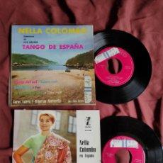 Discos de vinilo: NELLA COLOMBO CON LA ORQUESTA MARAVELLA 2 EPS. Lote 205691933