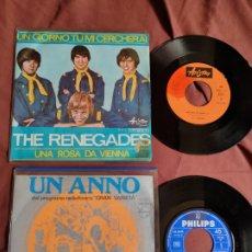 Discos de vinilo: EQUIPE 84 + THE RENEGADES EDICIÓN ESPAÑOLA. Lote 205694971