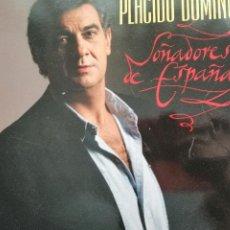 """Discos de vinilo: PLACIDO DOMINGO.""""SOÑADORES DE ESPAÑA"""". Lote 205695197"""