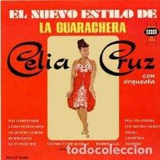 Discos de vinilo: CELIA CRUZ – EL NUEVO ESTILO DE LA GUARACHERA. Lote 205695417