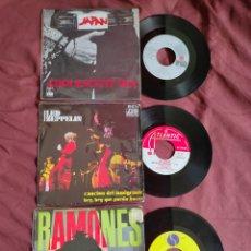 Discos de vinilo: LED ZEPPELIN/ RAMONES/ JAPAN. Lote 205695486