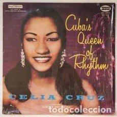 Discos de vinilo: CELIA CRUZ CON LA SONORA MATANCERA – CUBA'S QUEEN OF RHYTHM. Lote 205696340