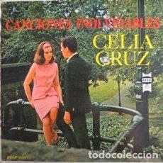 Discos de vinilo: CELIA CRUZ CON LA SONORA MATANCERA – CANCIONES INOLVIDABLES. Lote 205697920