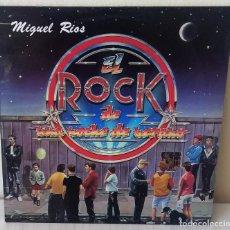 Discos de vinilo: MIGUEL RIOS - EL ROCK DE UNA NOCHE DE VERANO POLYDOR - 1983. Lote 205699355