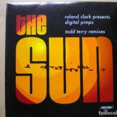 """Discos de vinilo: ROLAND CLARK PRESENTS DIGITAL PIMPS """"THE SUN TODD TERRY REMIXES"""". Lote 205699665"""