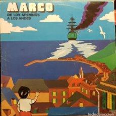 Discos de vinilo: MARCO DE LOS APENINOS A LOS ANDES. Lote 205702020