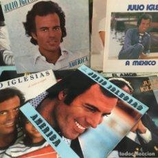 Discos de vinilo: 24 DISCOS DE JULIO IGLESIAS MUCHOS GAT Y ALGUNO COTIZADO. Lote 205706076