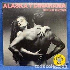 Discos de vinilo: ALASKA Y DINARAMA LP DESEO CARNAL. ESTUCHE VG+ VINILO VG+. Lote 205706310