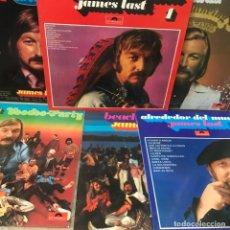 Discos de vinilo: 6 LP DE JAMES LAST. Lote 205707083