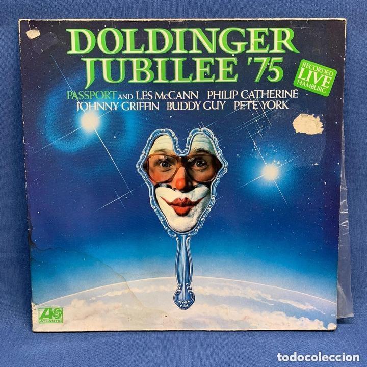 LP. DOLDINGER JUNILEE '75 - ESTUCHE VG DISCO VG++ (Música - Discos - Singles Vinilo - Jazz, Jazz-Rock, Blues y R&B)
