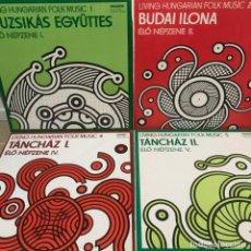 Discos de vinilo: 4 LPS MÚSICA HÚNGARA ESTADO DE CONSERVACIÓN INCREÍBLE. Lote 205712393