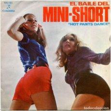 Discos de vinilo: TOMMY CLARK BAND – EL BAILE DEL MINI-SHORT - SG PROMO SPAIN 1971 - COLUMBIA MO1161. Lote 205713986