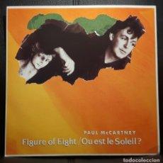 Discos de vinilo: PAUL MCCARTNEY - BEATLES - FIGURE OF EIGHT - MAXISINGLE - REINO UNIDO - 1989 - RARO - NO CORREOS. Lote 205716331