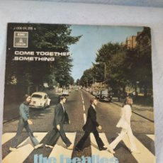 Discos de vinilo: SINGLE, THE BEATLES ‎– COME TOGETHER / SOMETHING - ODEON 1969.. Lote 205716666