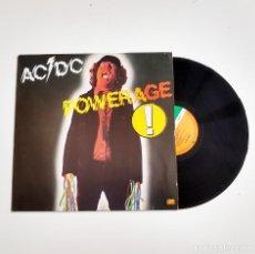 Disques de vinyle: AC/DC. POWERAGE. ATLANTIC. LP. Lote 205717000