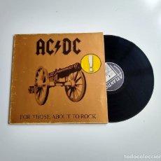 Disques de vinyle: AC/DC. FOR THOSE ABOUT TO ROCK. ATLANTIC. GATEFOLD LP. Lote 205717932