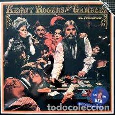 Discos de vinilo: KENNY ROGERS - THE GAMBLER (EL JUGADOR). Lote 205720495