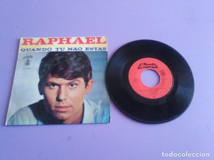 MUY DIFICIL.EP RAPHAEL BANDA ORIGINAL EL FILM.QUANDO TU NAO ESTAS.PORTUGAL.ALBORADA HISPAVOX H 11110 (Música - Discos de Vinilo - EPs - Bandas Sonoras y Actores)