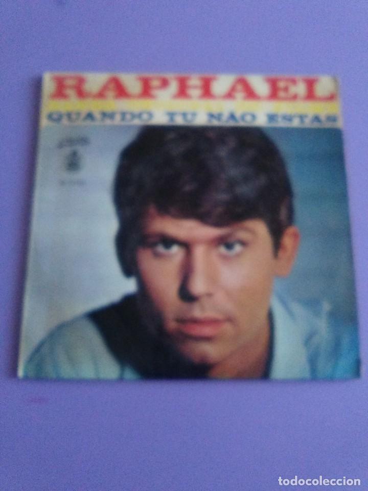 Discos de vinilo: MUY DIFICIL.EP RAPHAEL BANDA ORIGINAL EL FILM.QUANDO TU NAO ESTAS.PORTUGAL.ALBORADA HISPAVOX H 11110 - Foto 2 - 205721270