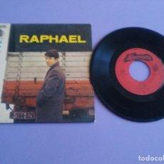 Discos de vinilo: EP.RAPHAEL.GRANDE PREMIO TVE.YO SOY AQUEL/HASTA VENECIA/ES VERDAD/LA NOCHE.ALVORADA H 11099.PORTUGAL. Lote 205724498