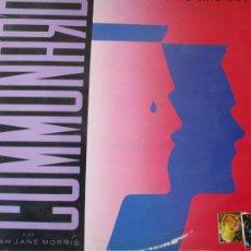 Discos de vinilo: COMMUNARDS WITH SARAH JANE MORRIS - DON'T LEAVE ME THIS WAY - POLYGRAM 1986 - LP VINILO.. Lote 205724691