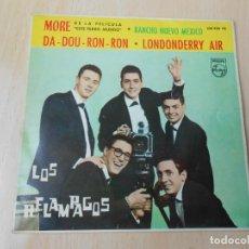 Discos de vinilo: RELAMPAGOS , LOS, EP, MORE + 3, AÑO 1963. Lote 205729801