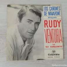 Discos de vinilo: LOS CAÑONES DE NAVARONE POR RUDY VENTURA Y SU CONJUNTO. Lote 205729837
