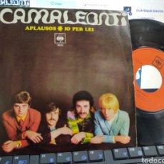 Discos de vinilo: I CAMALEONTI SINGLE APLAUSOS ESPAÑA 1968. Lote 205731106