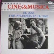 Discos de vinilo: LP - CINE Y MUSICA VOL. 49 - EL JAZZ Y SU INFLUENCIA EN EL CINE (VER FOTO ADJUNTA). Lote 205731565