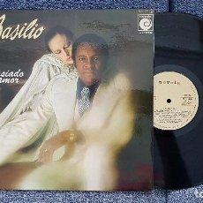 Disques de vinyle: BASILIO - DEMASIADO AMOR. EDITADO POR ZAFIRO. AÑO 1.977. CARÁTULA DOBLE Y LETRA DE LAS CANCIONES.. Lote 205734982