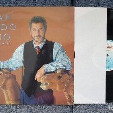 Discos de vinilo: JUAN PARDO - ESTÁ SOLO. EDITADO POR HISPAVOX. AÑO 1.990. CONTIENE LETRAS DE LAS CANCIONES.. Lote 205735393