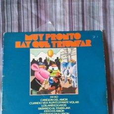 Discos de vinilo: VINILO MUY PRONTO HAY QUE TRIUNFAR ENRIQUE AGUIRRE OLYMPO. Lote 205735987