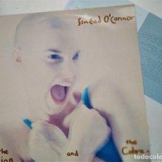 Discos de vinilo: LP SINEAD O´CONNOR, THE LION AND THE COBRA, ESPAÑA, CHRYSALIS 066 32 1612 1 (EX_VG+). Lote 205736323