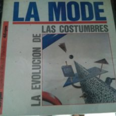 Discos de vinilo: MAXI SINGLE LA MODE -LA EVOLUCION DE LAS COSTUMBRES. MERCURY 1985. BUEN ESTADO. Lote 205737216